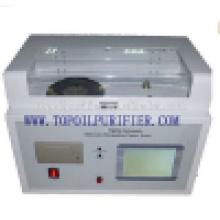 Modelo de resistivo de aceite automático y dieléctrico pérdida de aceite aislante Probador