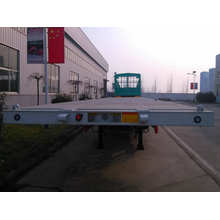 Flatbed Semi Trailer Truck 3 Axles
