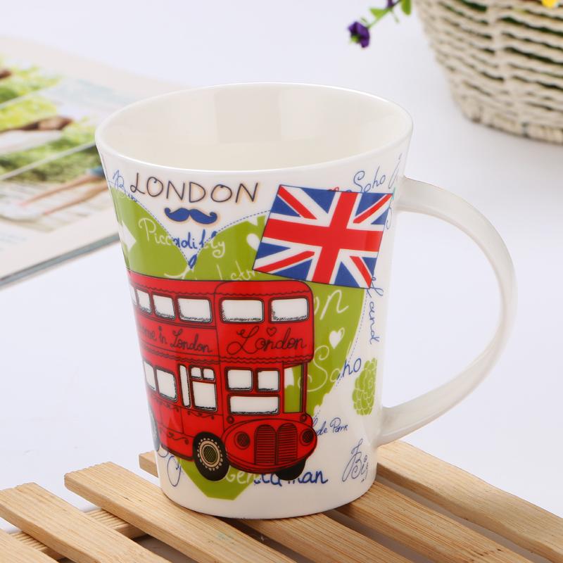 Custom printed ceramics mug
