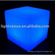 Crie sua emoção noturna com o Cubo LED