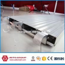 Échafaudage 7 'X19.25' 'platelage en aluminium pleine planche utilisé pour la construction