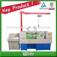 Automatic hydraulic thread rolling machine for screw rod