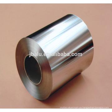 China 1100/8011/3105 papel de aluminio de embalaje para alimentos y bebidas