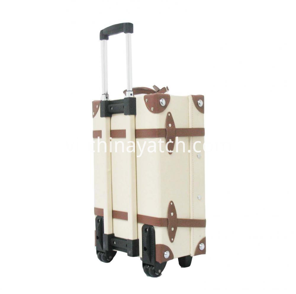 PU Vintage Luggage Case