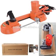 Novo portátil Mini potência de velocidade variável de madeira / aço / metal cortar banda viu a máquina