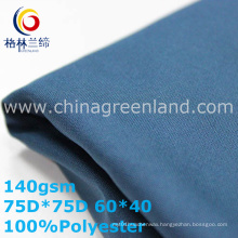 Twill 100%Polyester Pongee Fabric for Men′s Jacket (GLLML332)