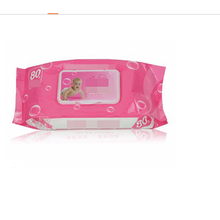 Baby wet wipes with cover
