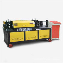 Hydraulic steel rebar straightener and cutter machine for 14mm rebar, 55m/min