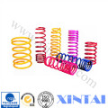 Colorful Plastic Sprying Stainless Steel Custom Compression Springs