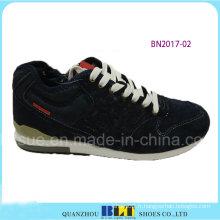 Vente chaude PU Materails Chaussures de course de marque