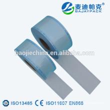 embalaje médico apósito esterilización de sellado térmico rollo plano