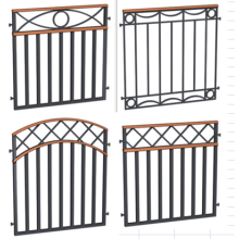 Powder coated Garden gate
