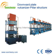 Pillar Structure Downward Plate Vulcanizer/Press