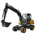 Hydraulic Wheel Excavator Machine