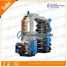 Type de pile Machine d'impression flexographique 12 couleurs