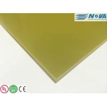 Folha isolada laminada de fibra epóxi (G11 / FR5)