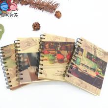Artículos de papelería de oficina A6 Pocket Mini Spiral Notebook
