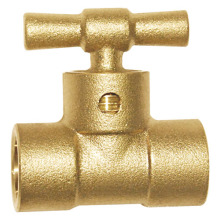 Два варианта латунного радиаторного клапана для воды (a. 0172)
