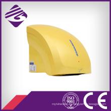 Secador de manos automático amarillo pequeño montado en la pared del hotel del ABS (JN70904C)