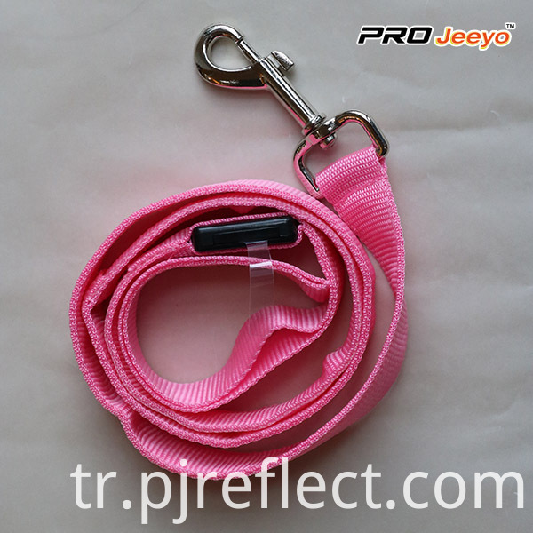 High Visibility Safety Reflective Pink Pets LeashesSVP-ZD002