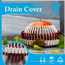 DC-D1810A Taiwan Made Green Roof Unblocked Dome Drainage Strainer