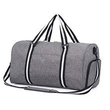 Män Foldable Clear Gym Sports Duffle Bag