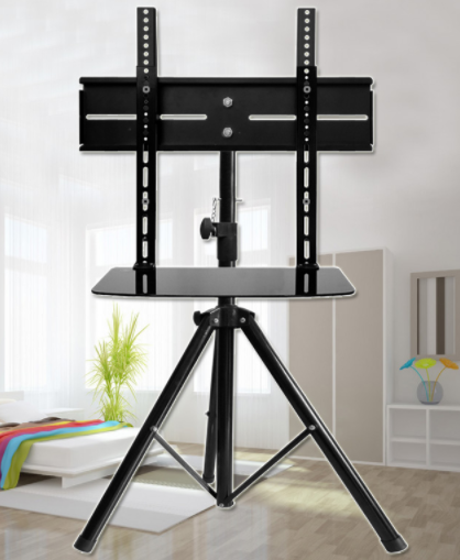 EM44 tripod TV stand in use