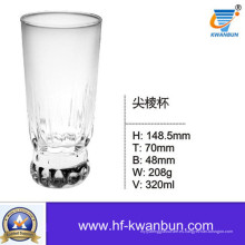 Copa de vidrio transparente Copa de agua Copa de whisky Utensilios de cocina Kb-Hn0359