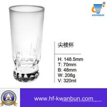 Copo de vidro transparente Copo de água Whisky Cup Utensílios de cozinha Kb-Hn0359