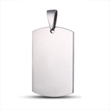 Etiqueta de encargo de la joyería del logotipo de acero