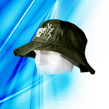 100% Polyester Man′s Camouflage Bucket Cap