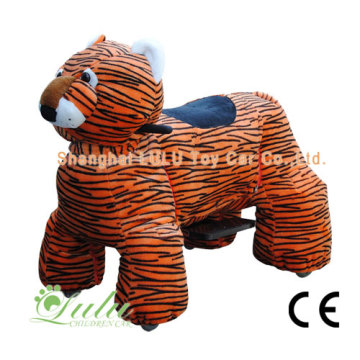 New Arrival China for Coin Operated Animal tiger walking animal rides export to Peru Factory