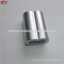 Nous manches de sablier ferrules en aluminium