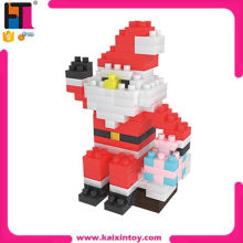 162 pcs/set christmas father and gift diamond blocks toy new products 2015 for kids