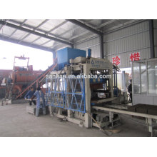 Hot sale concrete block making machine / low cost high return