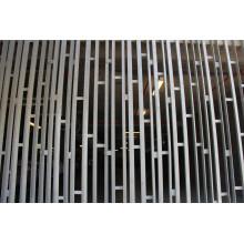 Rejilla de cribado de edificios de aleación de aluminio galvanizado ASTM