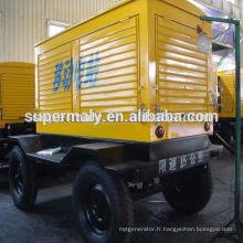 Générateur diesel à remorque de qualité supérieure