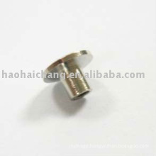 Nonstandard Faston Nickel Plated Steel Nut Plate Rivet