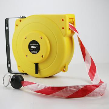 Bobine escamotable résistante de bande de barrière d'A18 20M avec la bobine de barrière automatique de rembobinage à ressort