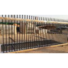 Puerta deslizante de acero durable de 2.4m con el mejor precio en tienda