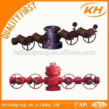 API campo petrolífero equipo de perforación cabezal de la cubierta con precio de fábrica