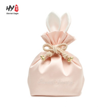 Factory wholesale good quality satin jewelry bag