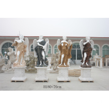 Marble Mix Color Four Seasons Statue