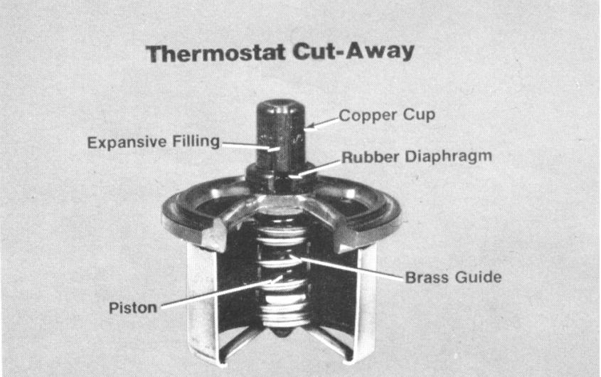 Cummins Engine parts 3076489 Thermosta For Excavators