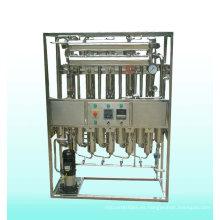 Producir varias máquinas destiladoras de agua