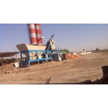 Передвижная бетоносмесительная установка для дозирования горячей воды в Индии