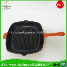 Enamel coating cast iron round fring pan