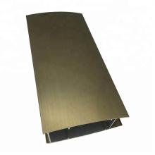 Profils en aluminium pour électrophorèse pour cadres de portes coulissantes