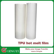 Película de adhesivos de fusión en caliente Qingyi TPU