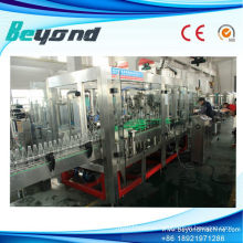4-in-1 Glass Bottle Beer Filling Capping Machinery